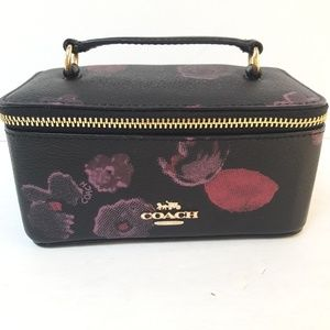 New Coach Travel jewelry case